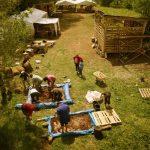 Taller de barro en Proyecto Zamanzas